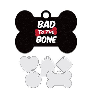 Picture of Bad to the Bone Pet Tag