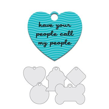 Picture of Have My People Call Your People Pet Tag