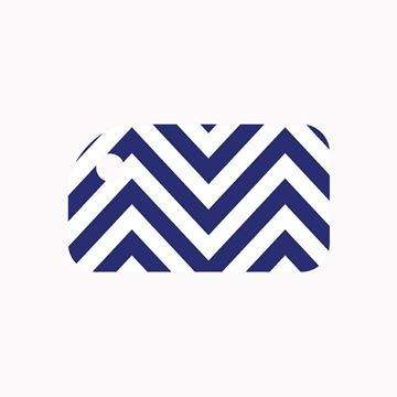 Picture of Blue Chevron KeyTag