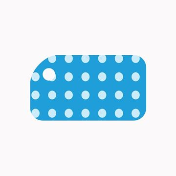 Picture of Blue Dots KeyTag