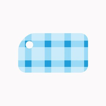 Picture of Blue Plaid KeyTag