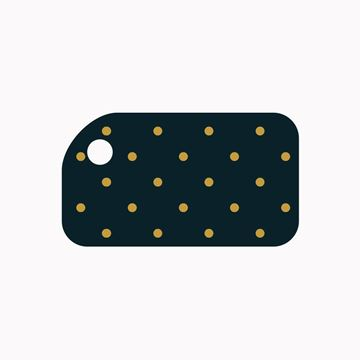 Picture of Gold Dots KeyTag