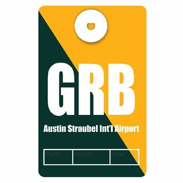 Picture of Green Bay Airport Code Luggage Tag