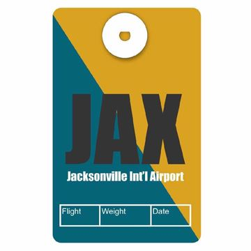 Picture of Jacksonville Airport Code Luggage Tag