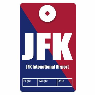 Picture of JFK Airport Code Luggage Tag