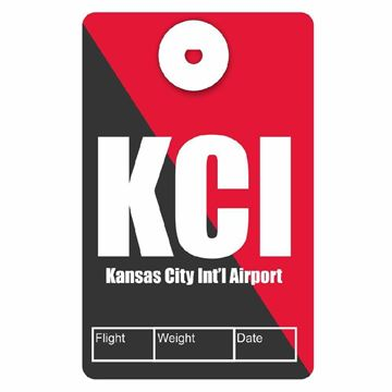Picture of Kansas City Airport Code Luggage Tag