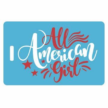 Picture of All American Girl Child Luggage Tag