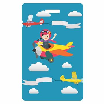 Picture of Airplane Child Luggage Tag