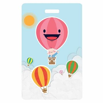 Picture of Hot Air Balloon Child Luggage Tag