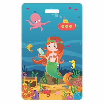 Picture of Mermaid Child Luggage Tag