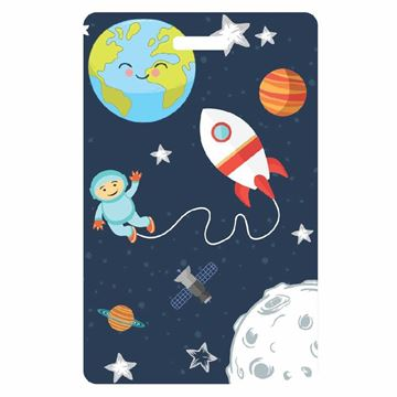 Picture of Space Child Luggage Tag