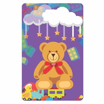Picture of Teddy Bear Child Luggage Tag