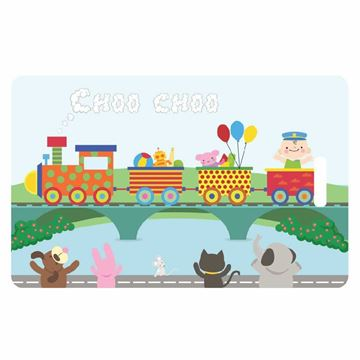 Picture of Train Child Luggage Tag