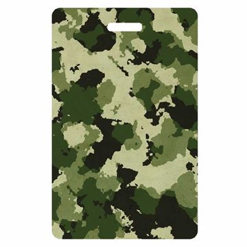 Picture of Camouflage Design Luggage Tag