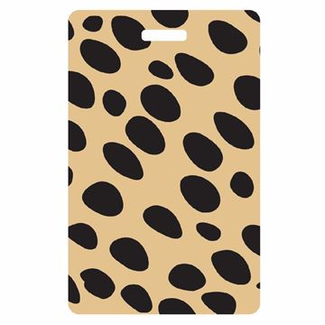 Picture of Cheetah Print Luggage Tag
