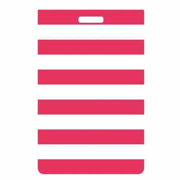Picture of Coral Stripes Luggage Tag