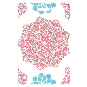 Picture of Coral Web Luggage Tag