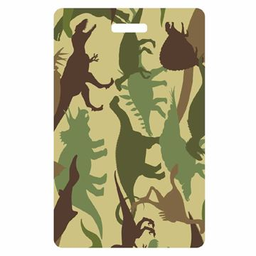 Picture of Dinosaur Camo Luggage Tag