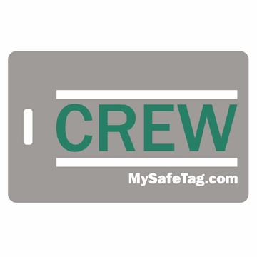 Picture of Frontier Airline Crew Luggage Tag