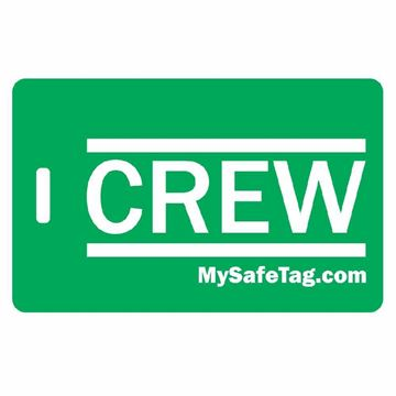 Picture of Green Crew Luggage Tag