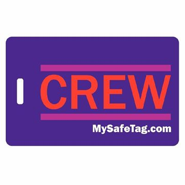 Picture of Hawaiian Airline Crew Luggage Tag