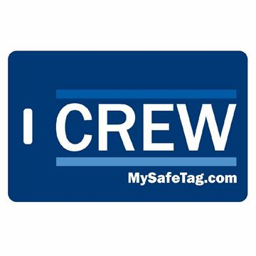 Picture of Jet Blue Crew Luggage Tag