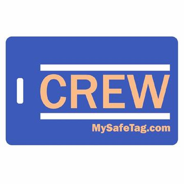 Picture of United Crew Luggage Tag