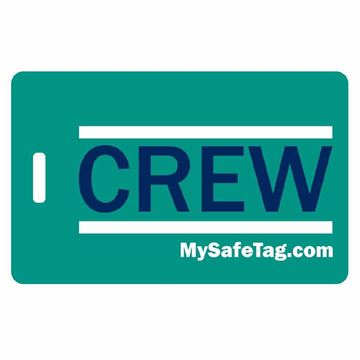Picture of WestJet Crew Luggage Tag