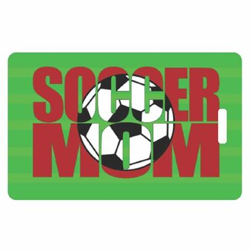 Picture of Soccer Mom Luggage Tag