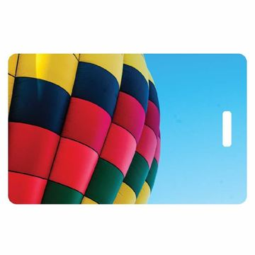 Picture of Hot Air Balloon Luggage Tag