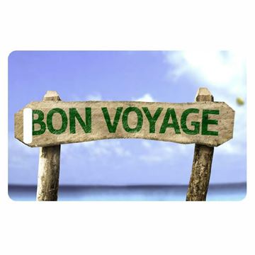Picture of Bon Voyage Luggage Tag