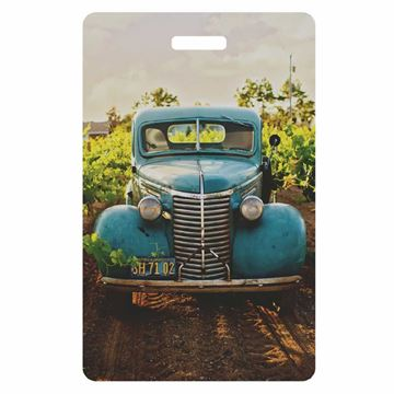 Picture of Old Truck Luggage Tag