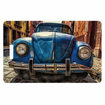 Picture of Old VW Luggage Tag