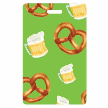 Picture of Beer & Pretzel Luggage Tag