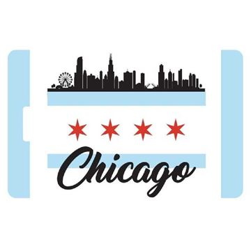 Picture of Chicago City Luggage Tag
