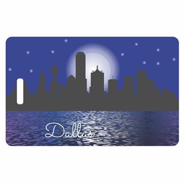 Picture of Dallas City Luggage Tag
