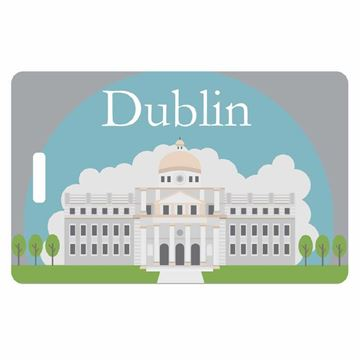Picture of Dublin City Luggage Tag