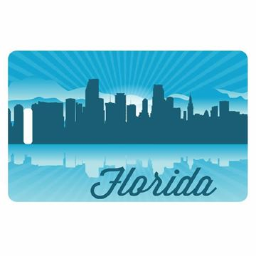 Picture of Florida Skyline Luggage Tag