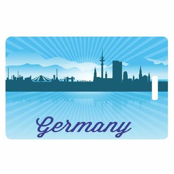 Picture of Germany Skyline Luggage Tag