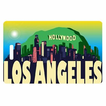 Picture of Los Angeles Identity Safe Luggage Tag