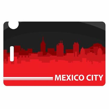 Picture of Mexico Skyline Luggage Tag