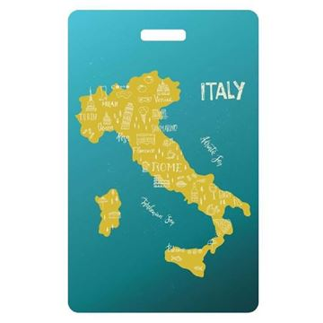 Picture of Italy Map Luggage Tag