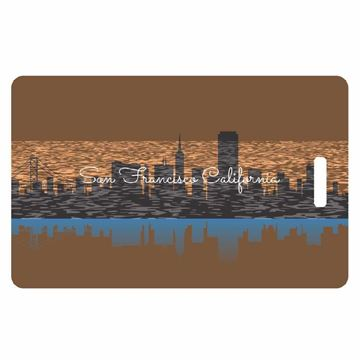 Picture of San Francisco Skyline Luggage Tag