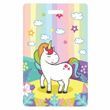 Picture of Unicorn Child Luggage Tag