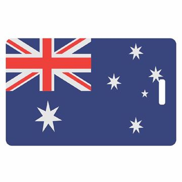 Picture of Australian Flag Luggage Tag
