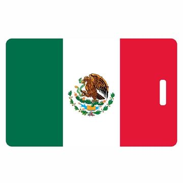 Picture of Mexican Flag Luggage Tag