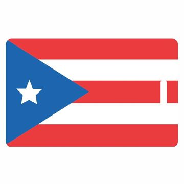 Picture of Puerto Rican Flag Luggage Tag