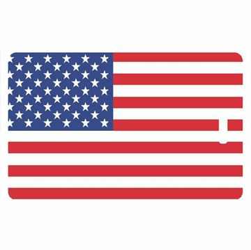 Picture of American Flag Luggage Tag