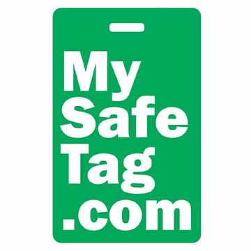Picture of Green My Safe Tag Luggage Tag