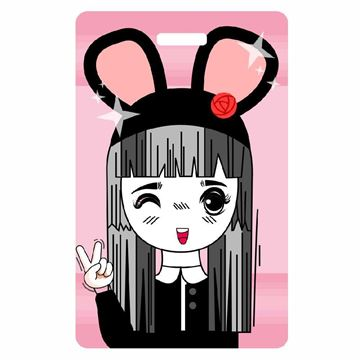 Picture of Anime Luggage Tag